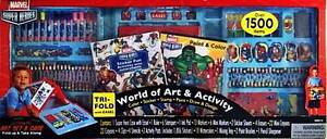 Marvel Super Heroes World of Art & Activity (over 1500 Items) NEW Burleigh Waters Gold Coast South Preview