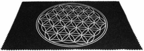 Large Velveteen Flower of Life Pendulum Dowsing Divination Mat Wiccan FREE SHIP