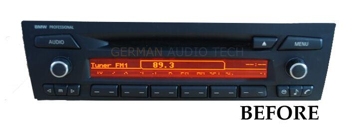 bmw lcd glass professional cd player radio e90 e91 e92 e93. Black Bedroom Furniture Sets. Home Design Ideas