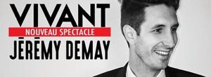 JEREMY DEMAY*THEATRE OLYMPIA MONTREAL* 21 OCTOBRE 2017