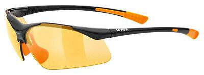 Uvex Fahrradbrille Sportbrille sportstyle 223 black-orange