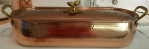 Ruffoni Copper Historia Decor Fish Kettle with Lid Just reduced!