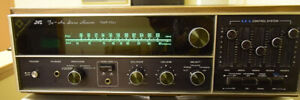 vintage JVC VR-5521 Am-FM receiver.