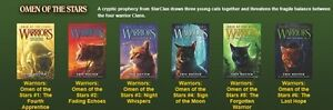 Warriors Books Complete Set 1 - 6 Erin Hunter