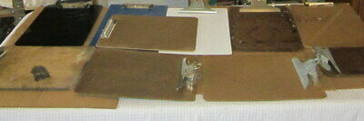 Vintage Lot Of 10 Clipboards Aw Quill Saunders National Skilcraft
