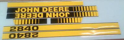 John Deere 2840 Hood Decals
