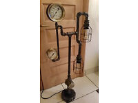 Fabulous Steampunk/Industrial Style Lamp