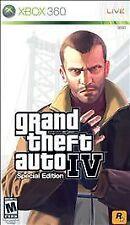 Xbox 360 Rockstar GTA4 Grand Theft Auto IV Special Edition New Factory Sealed