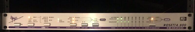 Apogee Rosetta 800 192kHz 8 channel AD / DA Converter with X-HD Pro Tools Card