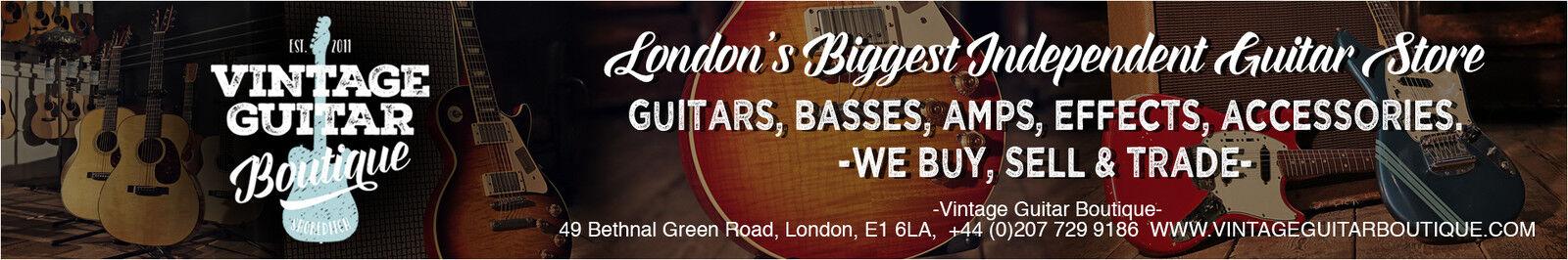 Vintage Guitar Boutique