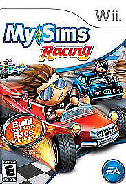 0-6 years old My Sims Racing GREAT Nintendo Wii