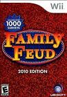 Family Feud Nintendo Wii 2010 Video Games