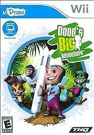 Nintendo-Wii-Game-uDraw-Doods-Big-Adventure-Brand-New-Sealed