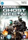 Tom Clancy's Ghost Recon Nintendo Wii 2010 Video Games
