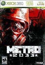 Metro-2033-Microsoft-Xbox-360-2010-CASE-and-MANUAL-ONLY