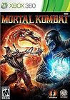 Mortal Kombat Microsoft Xbox 360 Video Games