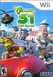 Planet 51 The Game Nintendo Wii, 2009  - $0.99