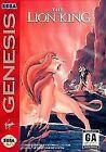 Lion King Sega Genesis Video Games