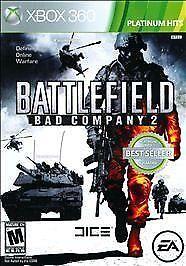 Battlefield Bad Company 2 -- Platinum Hits Microsoft Xbox 360, 2011  - $4.50