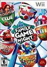 Hasbro Family Night 3 Nintendo Wii Video Games
