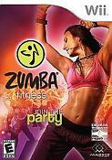 Zumba Wii Game with Belt