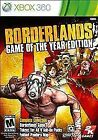 Borderlands Microsoft Xbox 360 Video Games