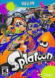 Splatoon Nintendo Wii U, 2015 No Defects Or Scratches - Works Perfectly - $9.99