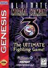 Ultimate Mortal Kombat 3 SEGA Video Games Release Year 1996