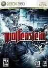 Wolfenstein Microsoft Xbox 360 Video Games