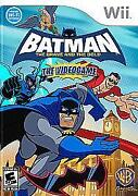 Batman The Brave and The Bold Wii