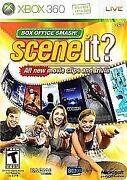 Scene It Box Office Smash Xbox 360
