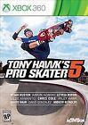 Tony Hawk's Pro Skater Microsoft Xbox 360 Video Games