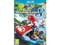 Mariokart 8 for the Wii U