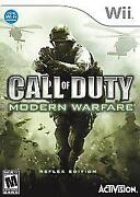 Call of Duty Modern Warfare Reflex Wii
