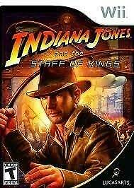 Indiana Jones and the Staff of Kings (Wii Used Game)