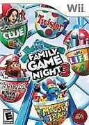 Family Game Night 3 Wii