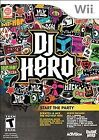 Nintendo Wii DJ Hero 2009 Released Video Games