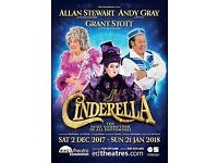4 x Cinderella VIP Package inc backstage access