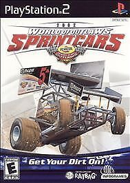 World of Outlaws Sprint Cars 2002 (Sony PlayStation 2/PS2-2002) Ratbag/Infogames