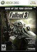 Fallout 3 Game of The Year Xbox 360