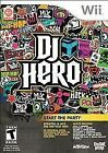 DJ Hero Nintendo Wii Video Games