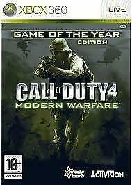 Call of Duty 4 Modern Warfare Game Of The Year Edition (Xbox