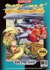 Street Fighter II 'Sega Genesis Fighting Video Games