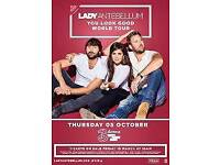 Lady Antebellum 2 x Seated Concert Tickets 3 Arena Dublin