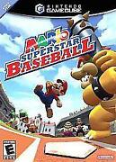 Mario Baseball GameCube