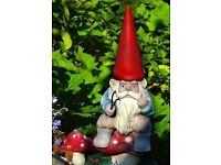 garden gnomes , free to a good home , RING ME