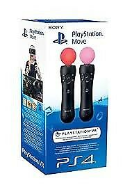 Playstation 4 move controllers x2