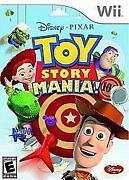 Toy Story Mania Nintendo Wii Game
