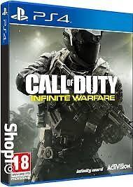 Call of dutie. Infinity warfare PS4 Game