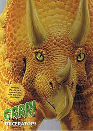Looking for a book called Grrr Triceratops